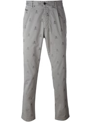 Philipp Plein 'Work Out' Chinos Grey