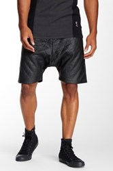 Religion Quilted Short Black