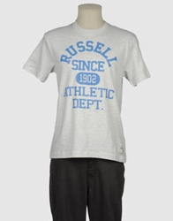 Russell Athletic Short Sleeve T Shirts White