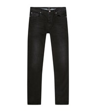 7 For All Mankind Chad Slim Tapered Jeans Male Black