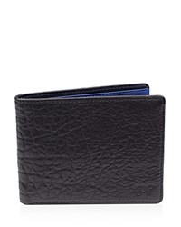 Will Leather Goods Reveal Billfold Wallet Black Royal