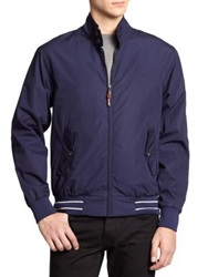 Fred Perry Paper Touch Harrington Jacket Navy