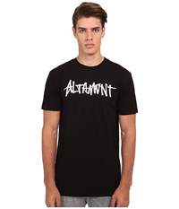 Altamont One Liner Black Men's Short Sleeve Pullover