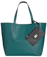 Styleandco. Style Co. Clean Cut Reversible Tote With Wristlet Only At Macy's Storm Black