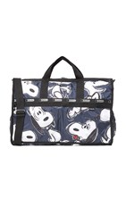 Le Sport Sac Peanuts X Lesportsac Large Weekender Bag Big Snoopy