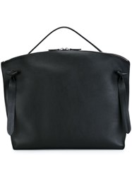 Jil Sander Zipped Tote Black