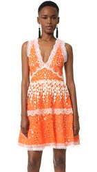 Alexis Bridget Dress Tangerine