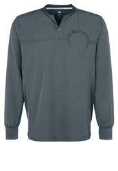 Adidas Performance Sports Shirt Dark Grey Dark Gray
