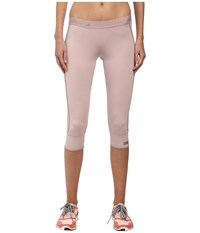 Adidas By Stella Mccartney The 3 4 Tights Aa8616 Dusty Rose Women's Workout Pink