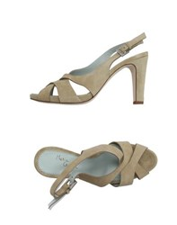 Maria Cristina Footwear Sandals Women Beige