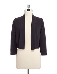 Calvin Klein Long Sleeve Shrug Black