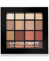 Nyx Ultimate Shadow Palette Warm Neutrals No Color