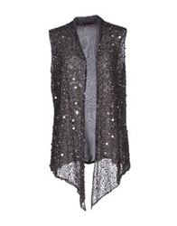 Angelina Cardigans Steel Grey