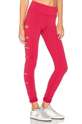 Lovers Friends Work By X Revolve In A Flash Legging Burgundy