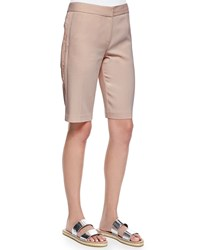 Rebecca Taylor Lace Side Suiting Shorts Makeup