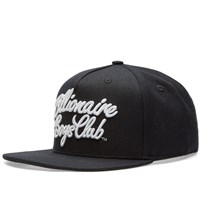 Billionaire Boys Club Script Logo Snapback Black