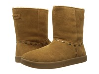 Sanuk Toasty Tails Short Chestnut Women's Pull On Boots Brown
