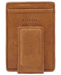 Fossil Ingram Magnetic Multicard Wallet Cognac
