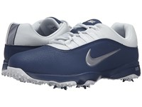 Nike Air Rival 4 Midnight Navy Pure Platinum Metallic Cool Grey Men's Golf Shoes Blue