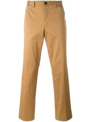 Paul Smith Ps By Slim Fit Chinos Brown