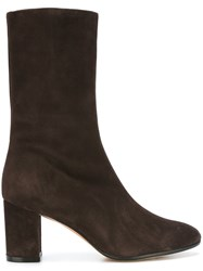 Jean Michel Cazabat Ankle Boots Brown