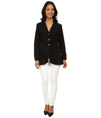 Nic Zoe Seamed Riding Jacket Black Onyx Women's Jacket