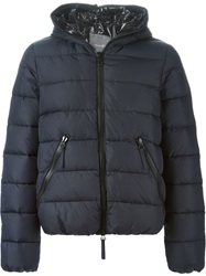 Duvetica Hooded Padded Jacket Blue
