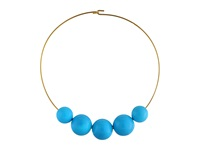 Kenneth Jay Lane 8041Ngt Turquoise Necklace Blue