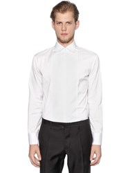 Dsquared Stretch Cotton Poplin Shirt W Plastron