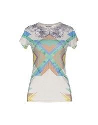 Who S Who Topwear T Shirts Women Ivory
