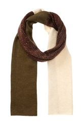 Rogue Colorblock Scarf Brown