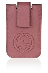 Gucci Soho Leather Iphone 4 Case Pink