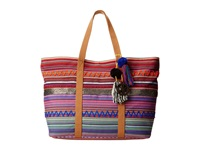 Sam Edelman Tara Tribal E W Tote Multi Tote Handbags