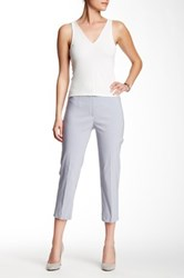 Insight Solid Cropped Pant Gray