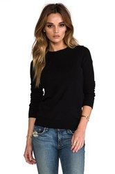 Autumn Cashmere Crew Black