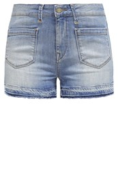Mavi Jeans Mavi Hera Denim Shorts Light Vintage Blue Denim