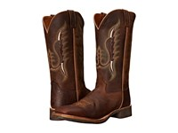 Old West Boots Bsm1860 Brown Oily Cowboy Boots