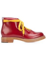 Vivienne Westwood 'Tommy' Boots Red