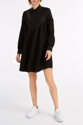 Cecilie Copenhagen Feliz Shirt Dress Black