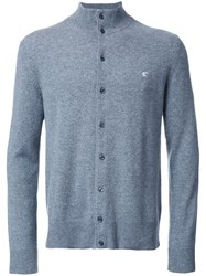 Loveless High Neck Cardigan Grey