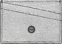 Kenzo White Textured Leather Card Holder