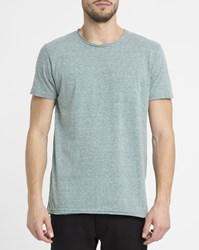 Revolution Mottled Green 1003 Vintage Round Neck T Shirt