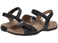 Sanita Claudia Black Snake Women's Sandals