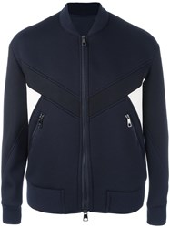 Neil Barrett Zipped Sports Jacket Blue