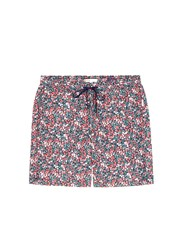 Onia 'Charles' 7' Wiltshire Floral Liberty Print Swim Shorts Red