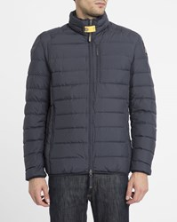 Parajumpers Navy Ugo Feather Down Jacket Blue