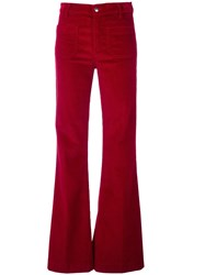 The Seafarer Flared Corduroy Trousers