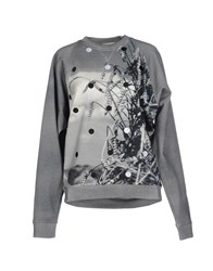 Jean Paul Gaultier Topwear Sweatshirts Women Light Grey