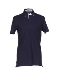 Valdoglio Polo Shirts Dark Blue