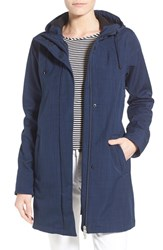 Women's Ilse Jacobsen Hooded Raincoat Indigo